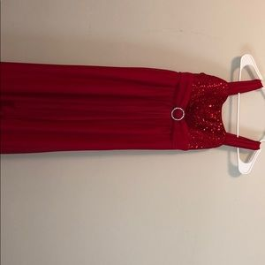 Youth Girls Red Dress
